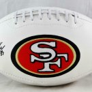 George Kittle Autographed Signed San Francisco 49ers Logo Football BECKETT