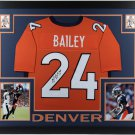 Champ Bailey Autographed Signed Framed Denver Broncos Jersey JSA