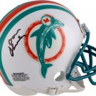 Don Shula Autographed Signed Miami Dolphins Mini Helmet FANATICS