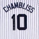 Chris Chambliss Autographed Signed New York Yankees Jersey JSA