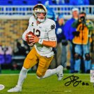 Ian Book Autographed Signed Notre Dame 8x10 Photo BECKETT