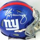 Eli Manning Autographed Signed New York Giants Mini Helmet FANATICS