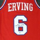 Dr. J Julius Erving Autographed Signed Philadelphia 76ers Jersey BECKETT