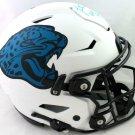 Fred Taylor Autographed Signed Jacksonville Jaguars FS Proline Lunar Helmet BECKETT