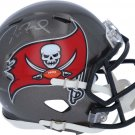 Tom Brady Autographed Signed Tampa Bay Buccaneers Mini Helmet FANATICS