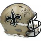 Deuce McAllister Autographed Signed New Orleans Saints Proline Helmet RADTKE