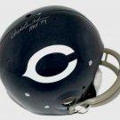 Dick Butkus Autographed Signed Throwback Chicago Bears  Helmet JSA