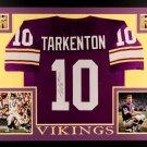 Chuck Foreman Autographed Signed Framed Minnesota Vikings Jersey JSA
