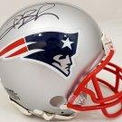 Deion Branch Autographed Signed New England Patriots Mini Helmet BECKETT