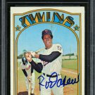 Rod Carew Twins Autographed Signed 1972 Topps Card BECKETT