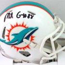 Mike Gesicki Autographed Signed Miami Dolphins Mini Helmet BECKETT