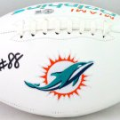Mike Gesicki Autographed Signed Miami Dolphins Logo Football BECKETT