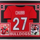 Champ Bailey Autographed Signed Framed Georgia Bulldogs Jersey BECKETT