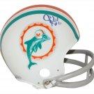 Jim Kiick Autographed Signed Miami Dolphins Mini Helmet TRISTAR