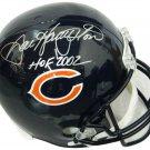 Dan Hampton Signed Autographed Chicago Bears FS Helmet SCHWARTZ
