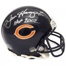 Dan Hampton Signed Autographed Chicago Bears Mini Helmet SCHWARTZ