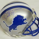 Billy Sims Signed Autographed Detroit Lions Mini Helmet SCHWARTZ