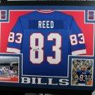Andre Reed Autographed Signed Framed Buffalo Bills Jersey JSA