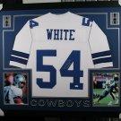 Randy White Autographed Signed Dallas Cowboys Framed Jersey JSA