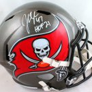 John Lynch Signed Autographed Tampa Bay Buccaneers FS Helmet BECKETT