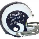 Tom Mack Autographed Signed Los Angeles Rams Proline Helmet BECKETT