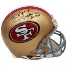 Steve Young Autographed Signed San Francisco 49ers Proline Helmet RADTKE