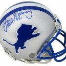 Lem Barney Signed Autographed Detroit Lions Mini Helmet SCHWARTZ