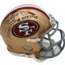 Steve Young Autographed Signed San Francisco 49ers Mini Helmet RADTKE