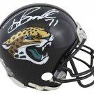 Tony Boselli Signed Autographed Jacksonville Jaguars Mini Helmet BECKETT
