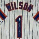 Mookie Wilson Autographed Signed New York Mets Jersey JSA
