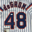 Jacob deGrom Autographed Signed New York Mets Jersey JSA