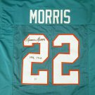 Mercury Morris Autographed Signed Miami Dolphins Jersey BECKETT