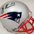 Rodney Harrison Autographed Signed New England Patriots Mini Helmet BECKETT