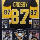 Sidney Crosby Autographed Signed Framed Pittsburgh Penguins Jersey COA