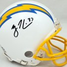 Rodney Harrison Autographed Signed San Diego Chargers Mini Helmet BECKETT