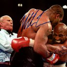 Mike Tyson & Evander Holyfield Autographed Signed 8x10 Photo BECKETT