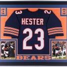 Devin Hester Autographed Signed Framed Chicago Bears Jersey JSA
