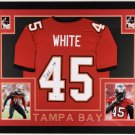 Devin White Signed Autographed Framed Tampa Bay Buccaneers Jersey BECKETT