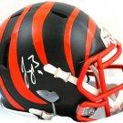 Joe Burrow Autographed Signed Speed Cincinnati Bengals Mini Helmet FANATICS