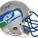 Steve Largent Autographed Signed Seattle Seahawks TB Mini Helmet BECKETT