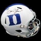 Daniel Jones Giants Signed Autographed Duke Blue Devils FS Helmet RADTKE