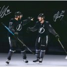Victor Hedman & Steven Stamkos Autographed Signed 16x20 Photo FANATICS