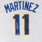 Edgar Martinez Autographed Signed Seattle Mariners Cooperstown Jersey COA