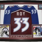 Patrick Roy Signed Autographed Framed Colorado Avalanche CCM Jersey UDA