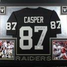 Dave Casper Autographed Signed Framed Oakland Raiders Jersey JSA