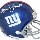 Daniel Jones Signed Autographed New York Giants Mini Helmet BECKETT