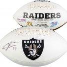 Charles Woodson Autographed Signed Oakland Raiders Logo Football FANATICS