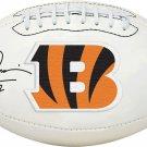 Boomer Esiason Autographed Signed Cincinnati Bengals Logo Football FANATICS