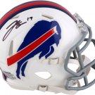 Josh Allen Autographed Signed Buffalo Bills Speed Mini Helmet FANATICS