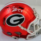 Champ Bailey Autographed Signed Georgia Bulldogs Mini Helmet JSA